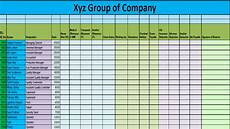 Salary Excel Sheet Format Ms Excel Salary Sheet Making Part 2 Format Youtube