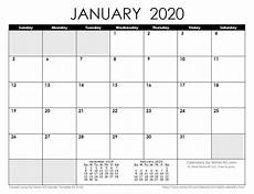 January 2020 Calendar Download 2020 Calendar Templates And Images