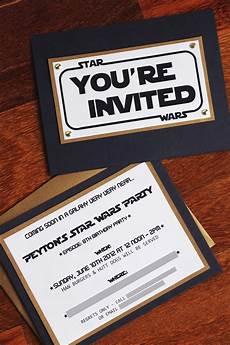 Star Wars Birthday Party Invitations The Contemplative Creative Star Wars Party Invitation