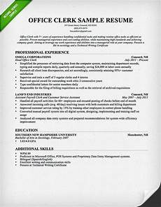 Office Duties Resume Office Clerk Resume Sample Administrative Assistant