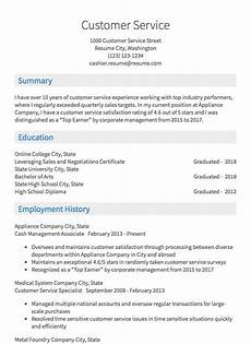 Online Resume Services Resume Samples 125 Free Example Resumes Amp Formats