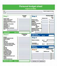 Budget Form Budget Forms 9 Free Pdf Documents Download Free