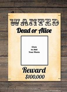Wanted Poster Maker Free Printable Poster Maker