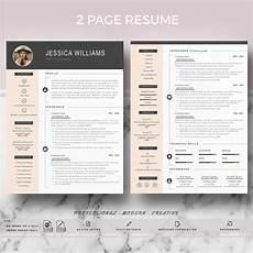 Modern Professional Resume Template Professional Amp Modern Resume Template On Behance