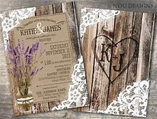 rustic lavender wood lace mason jar bridal shower wedding
