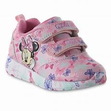 Minnie Mouse Shoes With Lights Disney Toddler Girls Minnie Mouse Light Up Athletic Shoe