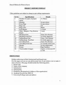 Project Reports Format Project Report Format Edit Fill Sign Online Handypdf
