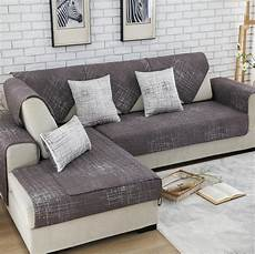 Chocolate Sofa Cover 3d Image by 1 Sofa Cover Modern Brief Brown Beige Printing Soft