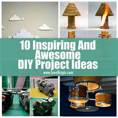 10 inspiring and awesome diy project ideas