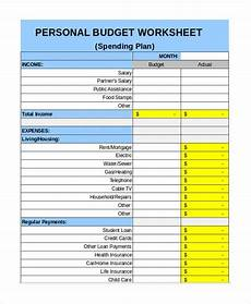 Detailed Budget Template Free Personal Budget Template 7 Free Excel Pdf