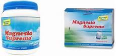 magnesio supremo effetti benefici magnesio supremo cos 232 a cosa serve benefici posologia