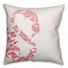 geometric throw pillow in pink bed bath beyond