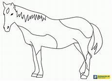 pferd malen anleitung ausmalbild club