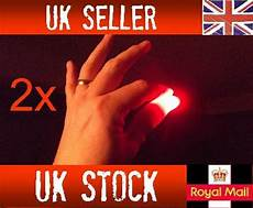 Light Up Thumbs 2x Magic Light Up Thumbs Fingers Red Trick Appearing Light
