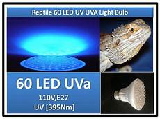 Uvb Led Reptile Light Indoor Snake Turtle Lizard Reptile 60 Led Uv Uva Light