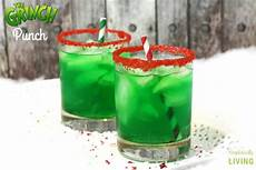simple grinch punch recipe simplistically living
