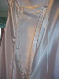 creating a modesty panel for corset back dress sewing