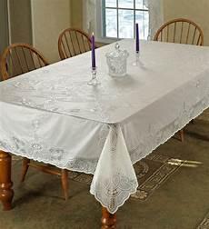 vinyl lace betenburg design tablecloth beige 60 quot by 90
