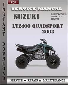 Suzuki Lt Z400 Ltz400 Quadsport Z400 Manual Html Autos