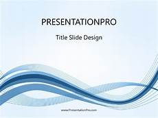 Ppt On Waves Motion Wave Blue1 Powerpoint Template Background In