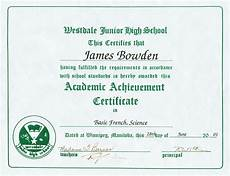 Academic Award Certificate 4 Awards And Certificates 2001 Present James Bowden S