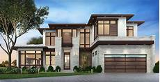 master modern house plan with outdoor living room