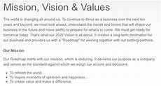 Mission Statement Sample The Mission Statement Your Website S Worst Enemy