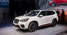 2019 subaru forester debut the 2019 subaru forester enters fifth generation with