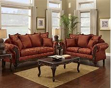 floral print sofa and loveseat traditional sofa set