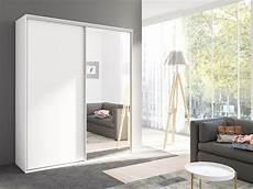 gala ii large wardrobe with mirror sliding doors