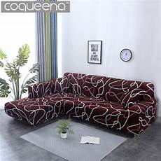 2 pieces covers for corner sofa universal stretch elastic