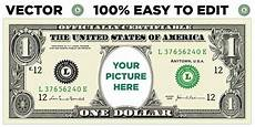 Money Template For Word How To Create A Personalized Dollar Bill Snap Vectors