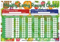 Food Chart For Kids A3 Healthy Eating Childrens Reward Chart