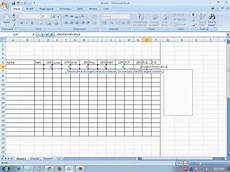 Ms Excel Sheet How To Make Grading Sheet Using Ms Excel 2007 Wmv Youtube