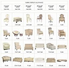 Chart Furniture Furniture Yardage Chart Will Require More Yardage Than A