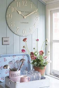 accessori cucina shabby 33 ways to add modern wall clock to kitchen decor and cure