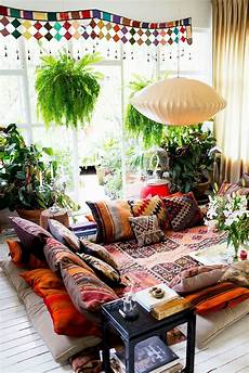 hippie chic bohemian decor feng shui earth element the