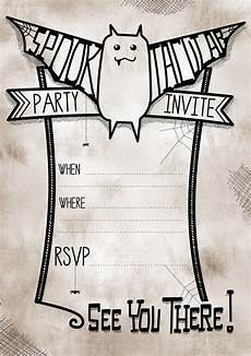 Costume Party Invitations Free Printable Free Printable Spooktacular Party Invites For Halloween