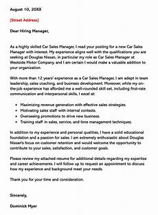 Cover Letters For Sales Sales Cover Letter Examples Amp Samples With Writing Tips