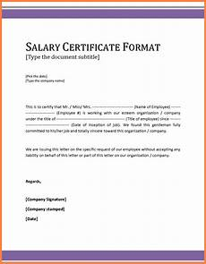 Salary Received Letter Format 8 Salary Statement Sample Format Salary Slip