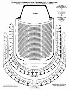 Stern Theater Seating Chart Isaac Stern Carnegie Hall Seating Chart Theater