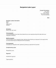 How To Do A Resignation Letter Free 6 Sample Email Resignation Letter Templates In Pdf