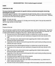 Medical Support Assistant Duties 10 Medical Assistant Job Description Templates Pdf Doc