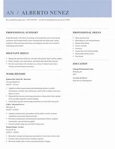 Resume For Food Industry 2019 S Best Resume Examples For Every Industry Hloom