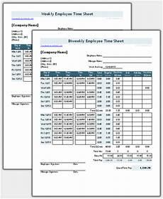 Standard Time Sheet Time Sheet Template For Excel Timesheet Calculator