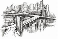 City Building Sketches Free Modern City Sketch Vector Titanui
