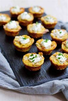 baked mashed potato bites recipe healthy appetizers