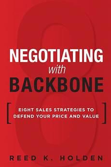 Holden Negotiating With Backbone Eight Sales Strategies
