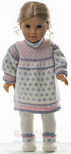 knitted doll clothes pattern