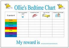 One World Rewards Chart Printable Bedtime Routine Chart Personalised By